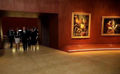 Putin, Tretyakov Gallery.