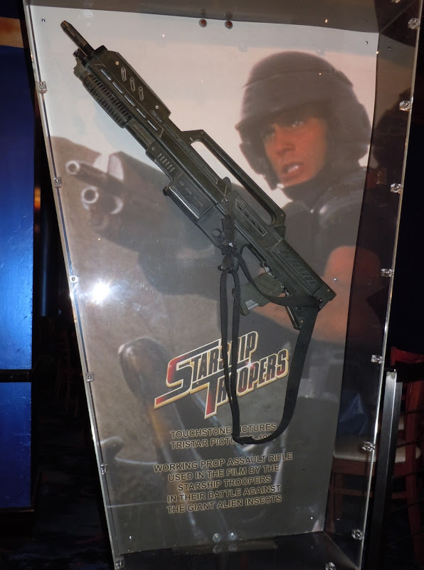 Starship Troopers assault rifle film prop