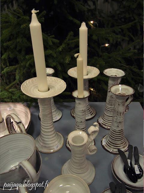 tuias kynttilänjalat