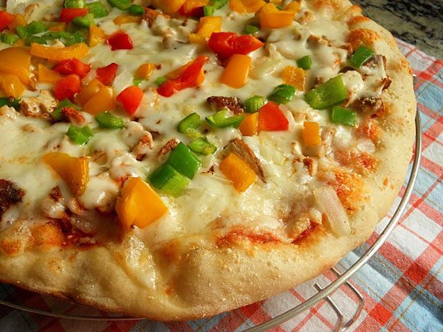 بيتزا الستيك