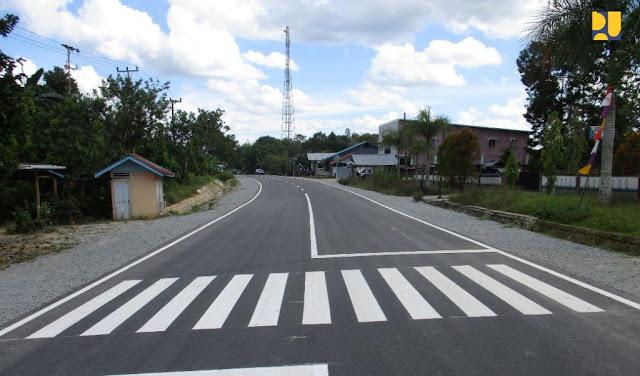 Kementerian PUPR : Infrastruktur Perbatasan Entikong Dorong Pengembangan Ekonomi Lokal