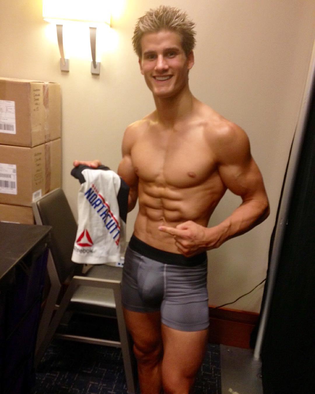 Chuck liddell and heidi northcott's naked workout photo
