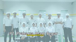 Lowongan Kerja PT Prakarsa Alam Segar Pondok Ungu April 2020