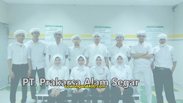 Lowongan Kerja PT Prakarsa Alam Segar Pondok Ungu Agustus 2020