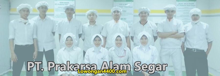 Lowongan Kerja PT Prakarsa Alam Segar Pondok Ungu Agustus 2021