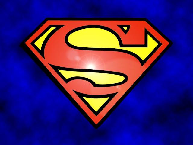 stencil superman logo thanks to eli kennedy manofsteel utk edu