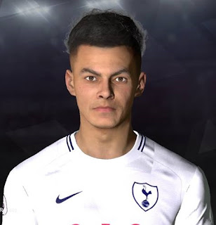 PES 2017 Faces Dele Alli by Facemaker Ahmed El Shenawy