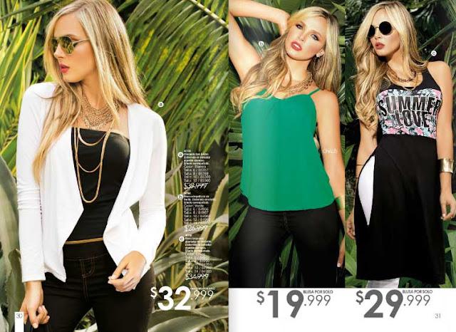 Digital online Carmel  campaña 03 2016 : ropa de moda