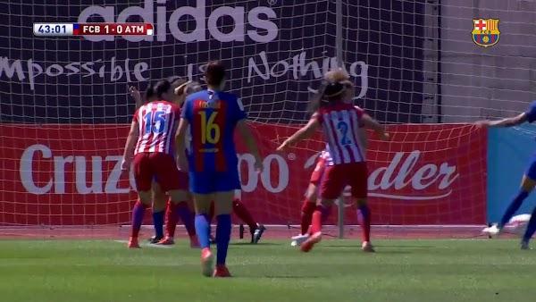Atlético Feemnino y Barça Femení, cara a cara en Gol