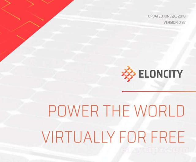 Eloncity Team has just updated the Whitepaper V 0.91