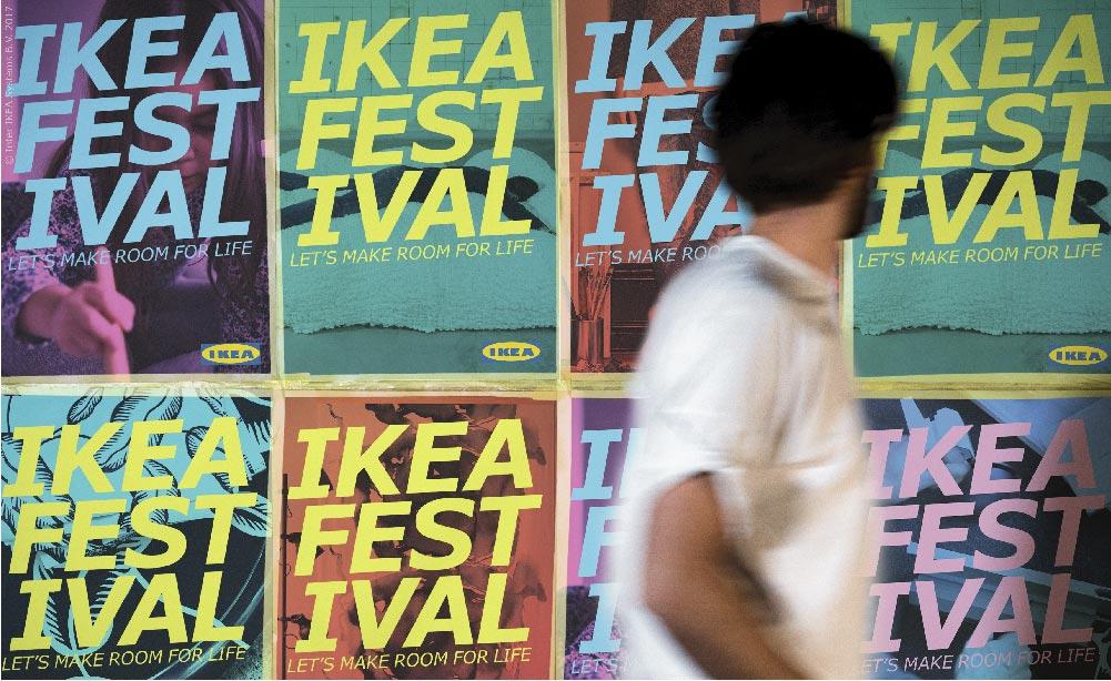IKEA al Fuorisalone 2017 con un festival a Lambrate