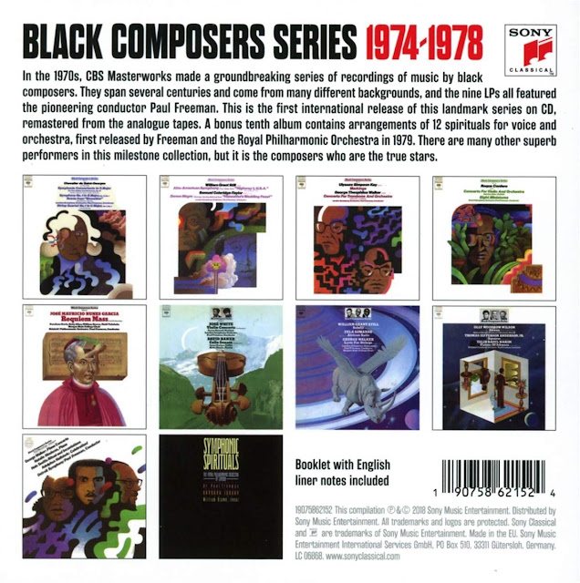 The Black COmposers Series - Sony Classical