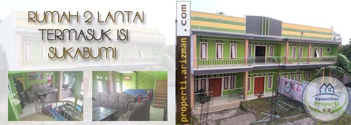 Dijual Rumah 2 Lantai Termasuk Isi Sukabumi