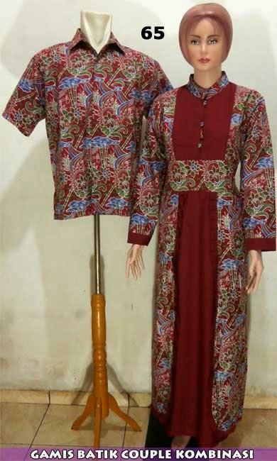 baju-batik-sarimbit-muslim-modern