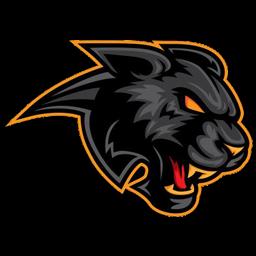 black panther logo wallpaper hd