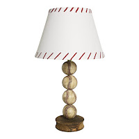 Stacked Baseball Lamp from Christmas Tree Shops