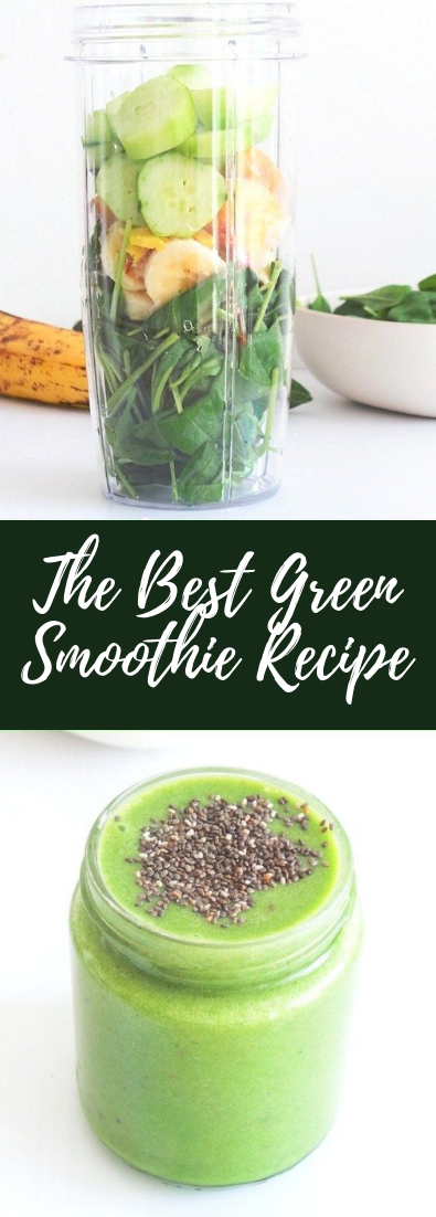 The Best Green Smoothie Recipe  #cocktail #smoothie