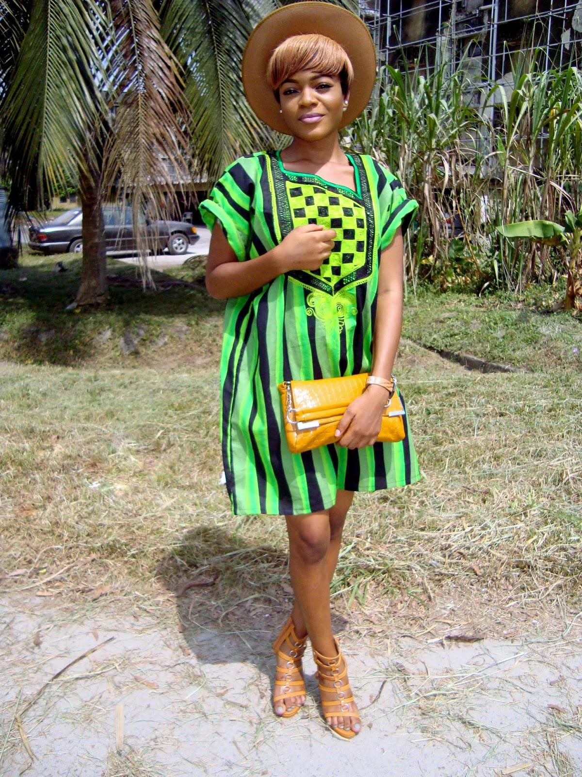 best dressed/worn agbada style on a female/woman