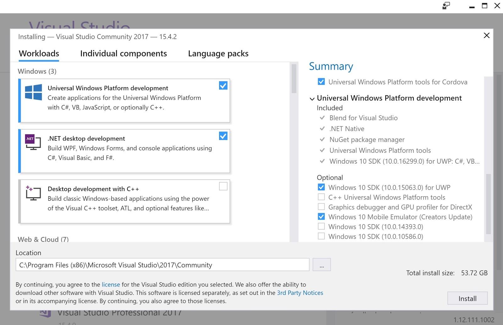 HodentekHelp: How do you install Visual Studio Community 2017?