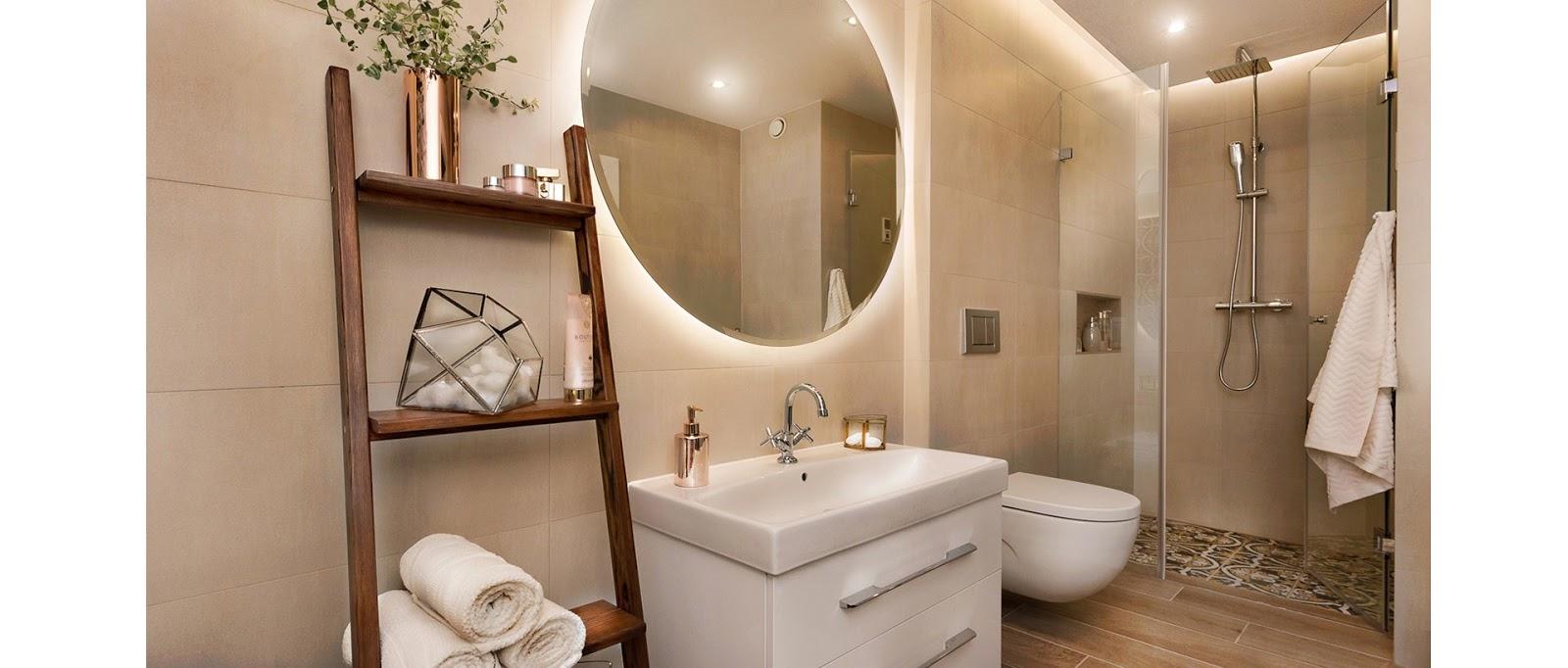 Apartamento moderninho na Polônia!  Jeito de Casa  Blog de Decoração -> Banheiro Antigo Decorado