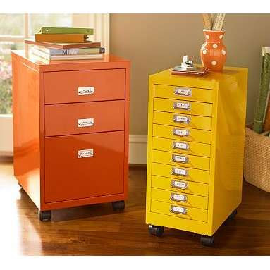 Color It Simple: Filing cabinets made Beautiful