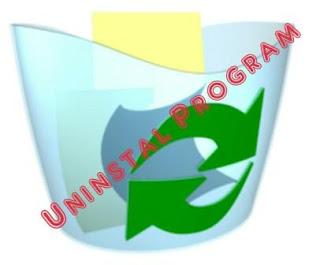 Cara menghapus atau uninstal program aplikasi di windows