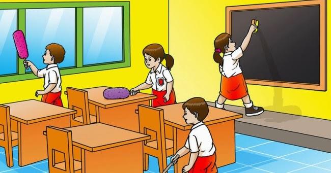Gambar Kerjasama Di Sekolah Kartun Terbaru Gambar Kerja Sama Kartun Paling Baru