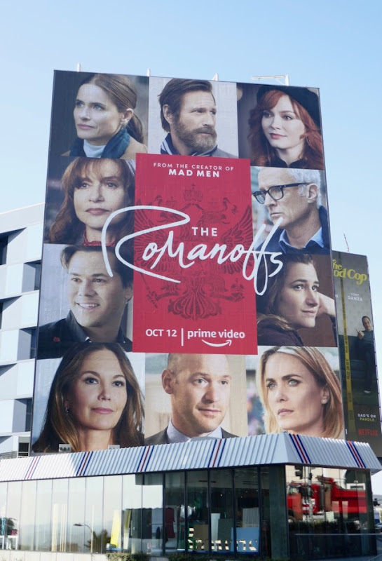 Romanoffs series premiere billboard