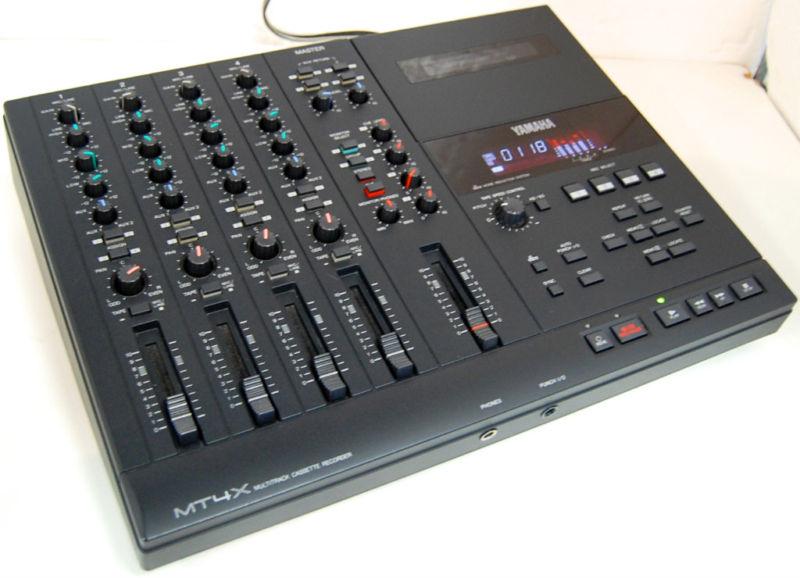rewind audio for sale yamaha mt4x 4 multi track tape cassette recorder mixer. Black Bedroom Furniture Sets. Home Design Ideas