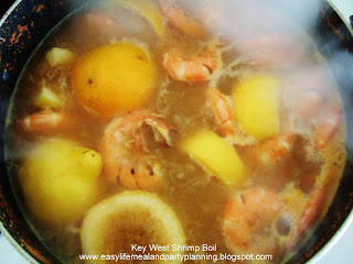 Key West Shrimp Boil - Easy Life Meal & Party Planning