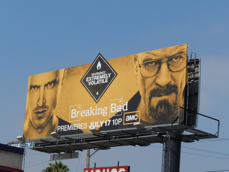 Breaking Bad season 4 TV billboard