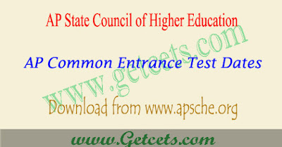 AP Cets dates 2021, apsche common entrance test schedule