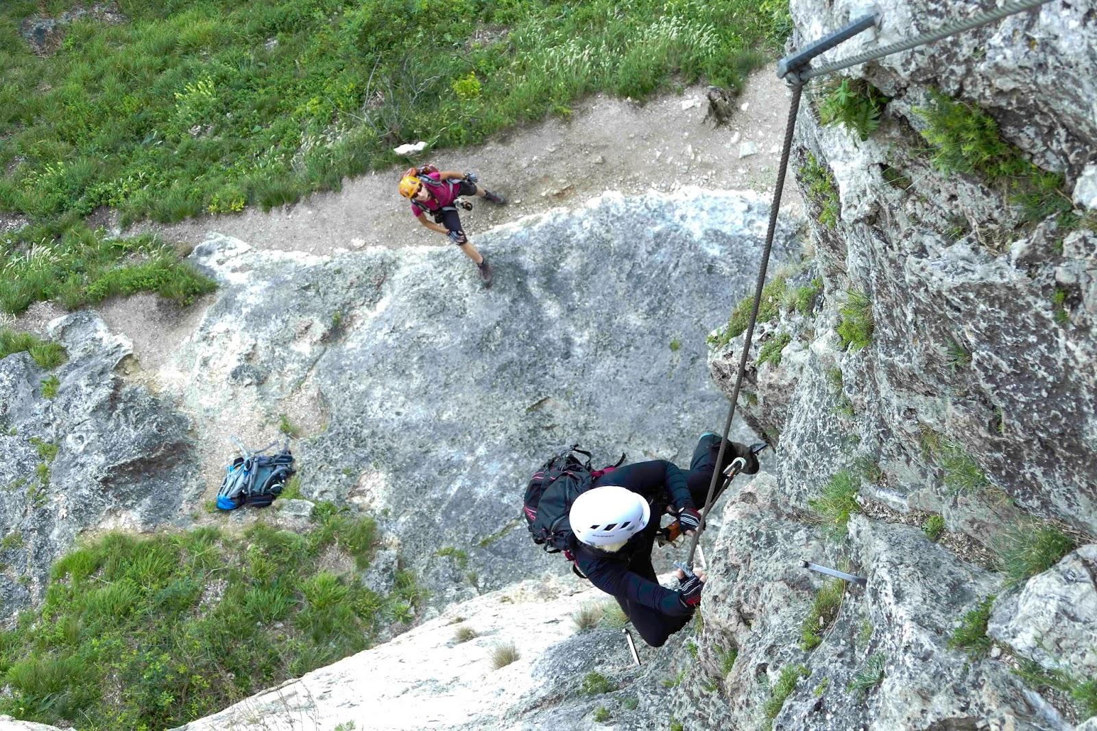 Pittentaler Klettersteig : Mało za duże podróże: via ferrata austria pittentaler klettersteig