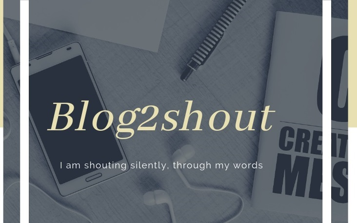 Blog To Shout....Blog Till Drop