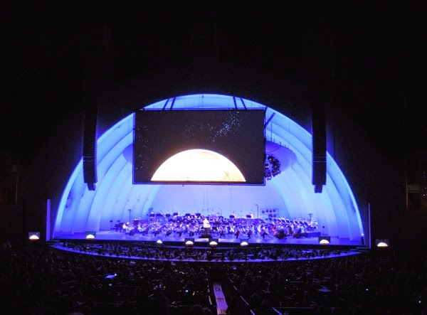 Hollywood Bowl Planets Odyssey Concert