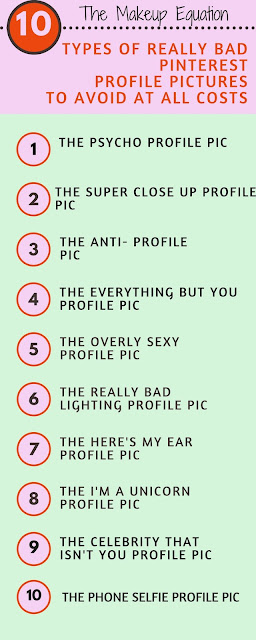 10 Types of Really Bad Pinterest Profile Pics To Avoid At All Costs