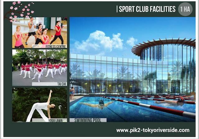 Sport Club @ Tokyo Riverside Apartment