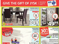 Jysk Flyer Canada january 25 - 31, 2018
