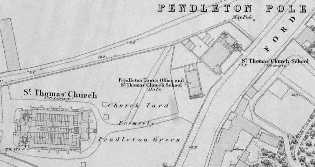 Salford History: Pendleton Church, Salford