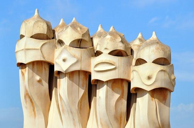 Elementos arquitetônicos de La Pedrera
