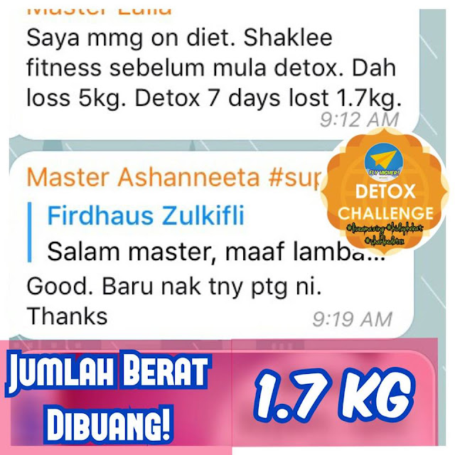 7 hari meal plan shaklee
