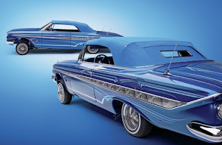 Gangster Style Modification Chevrolet Impala Convertible 1961