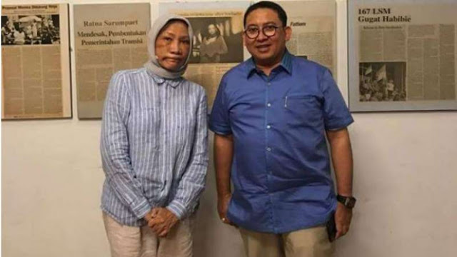 Fadli Zon: Akting Ratna Sarumpaet Dahsyat Sekali