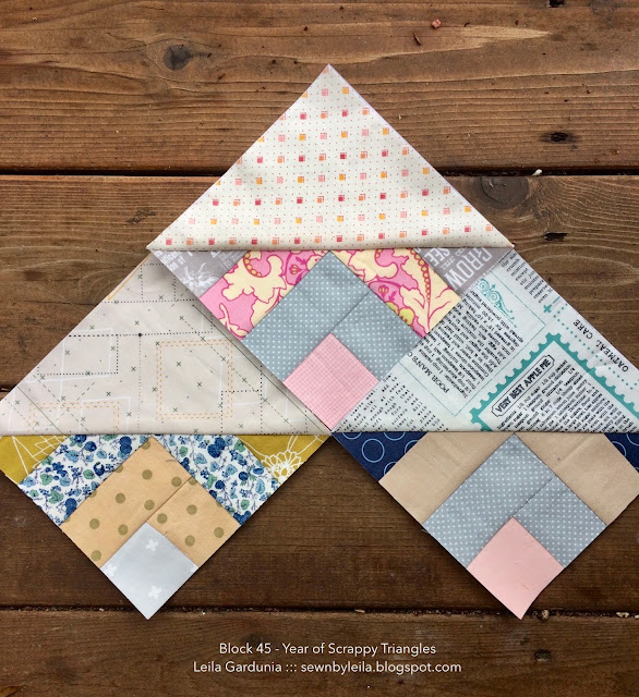 "Free 6"" foundation paper pieced quilt blocks. Perfect for using fabric scraps - a great quilt scrap buster."