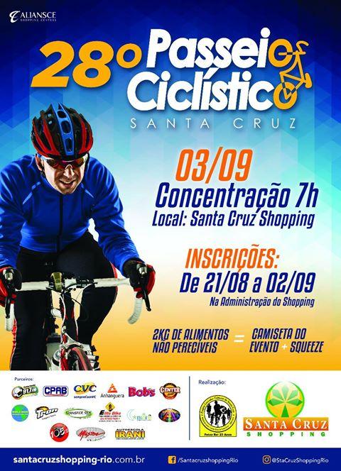 28º Passeio Ciclístico de Santa Cruz