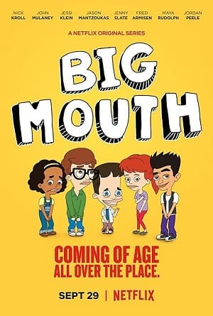 Desenho Big Mouth Dublado Torrent 1080p / 720p / FullHD / HD / WEB-DL Download