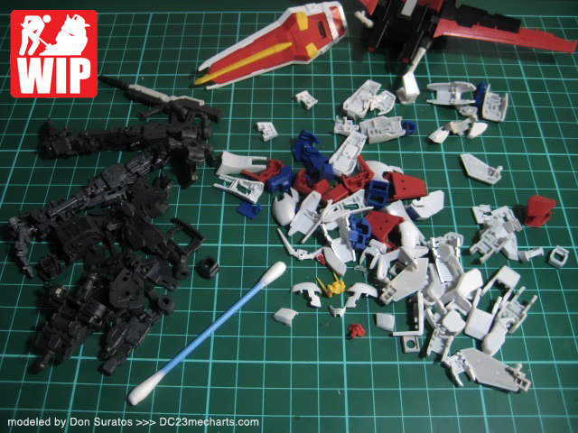 RG Aile Strike Gundam WIP Photo