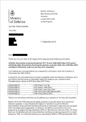 FOIA Reply (1) MoD 9-11-2014