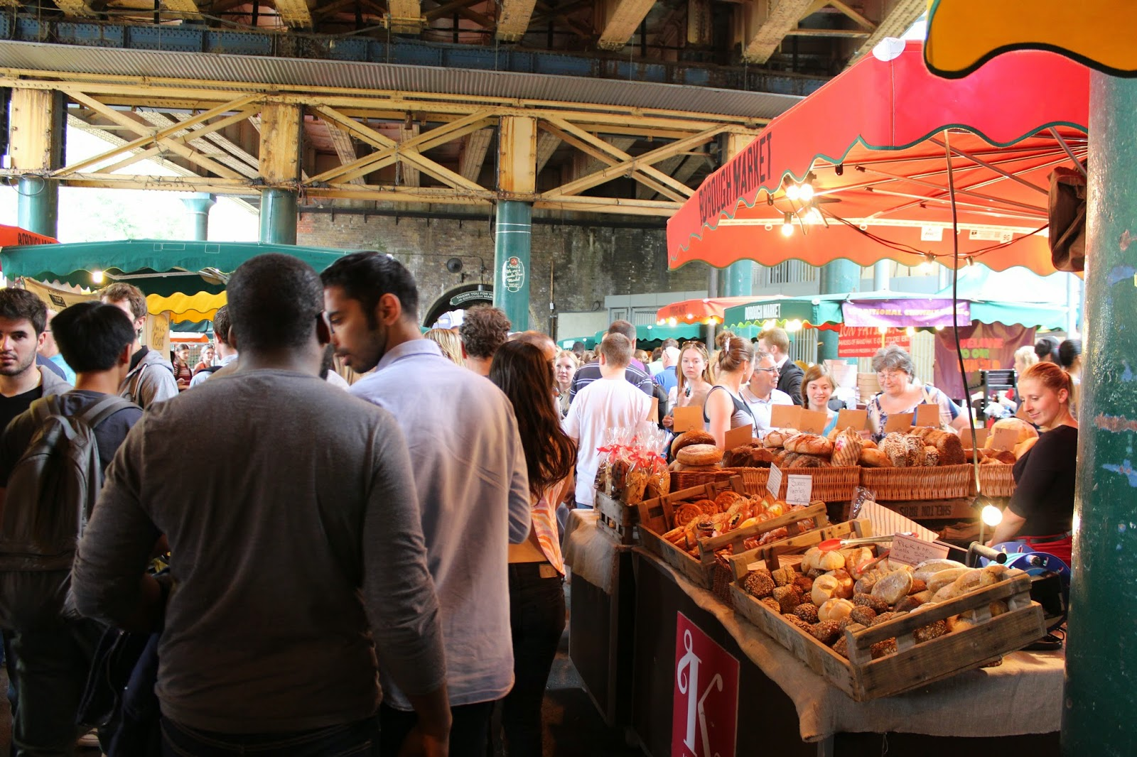 Borough Market foodies
