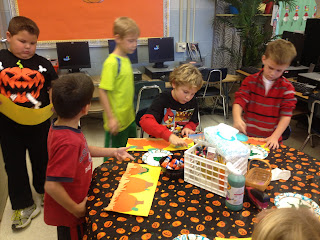 Pumpkin Investigating! - First Grade Roars!